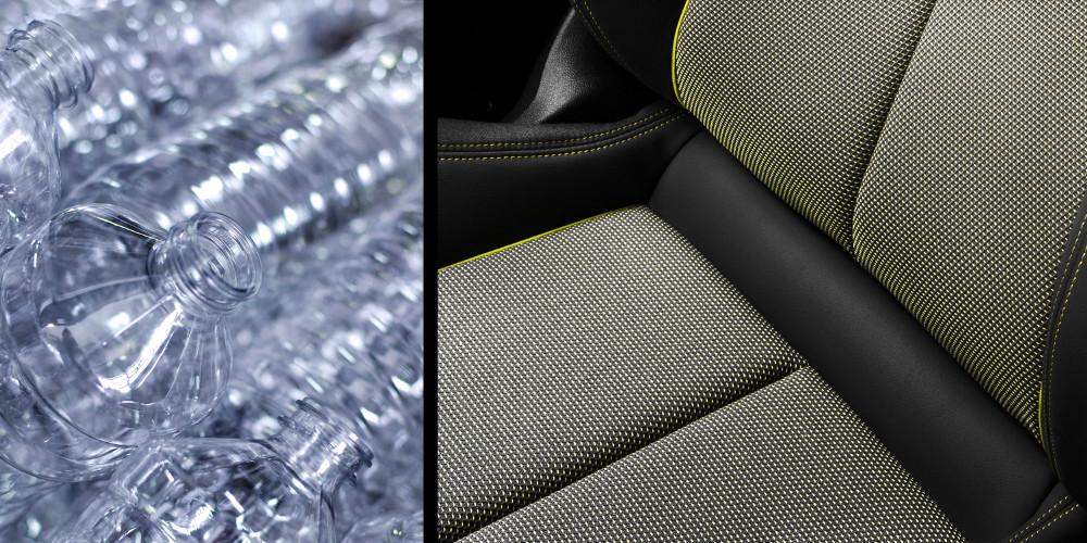 Audi verwandelt PET-Flaschen in Sitzbezüge - ingenieur.de