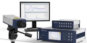 Modulare Vibrometer OFP-5000 für vielfältige Schwingungsmessaufgaben. Foto: Polytec