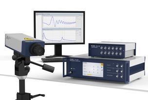 Modulare Vibrometer OFP-5000 für vielfältige Schwingungsmessaufgaben. Bild: Polytec