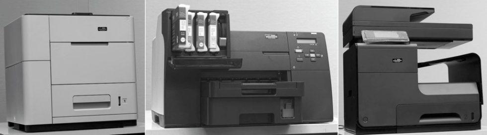 Bild 1. Untersuchte Drucker. Quelle: IFA