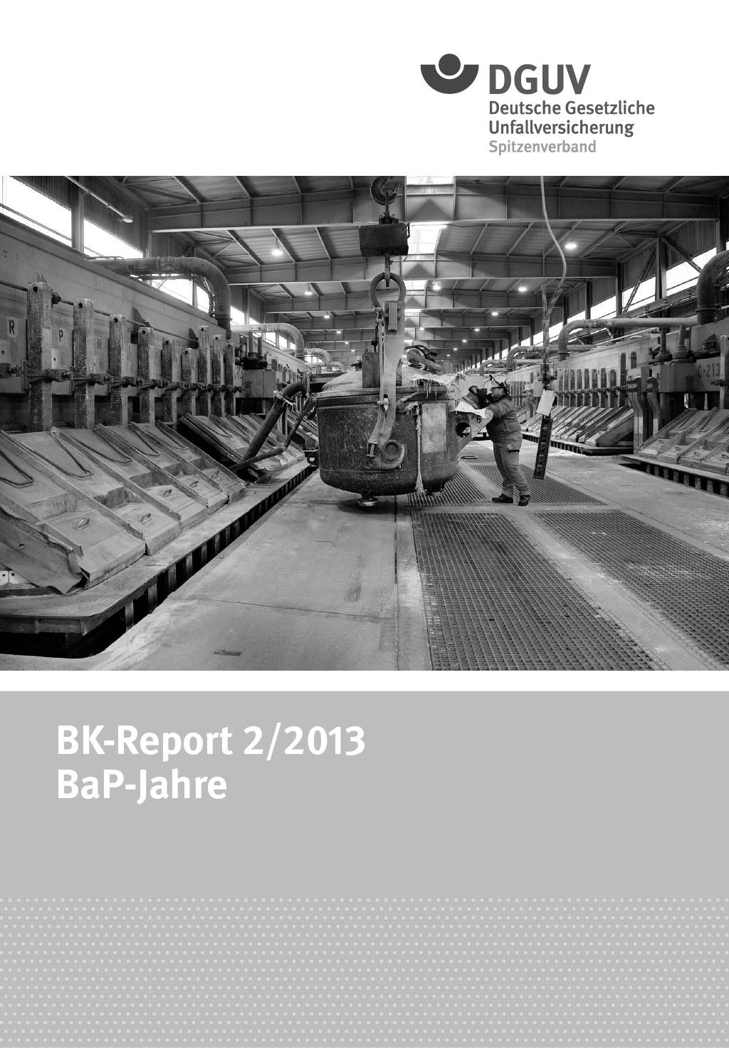 """Titelseiten der BK-Reports """"BaP-Jahre"""" [7] und """"Faserjahre"""" [8]."""