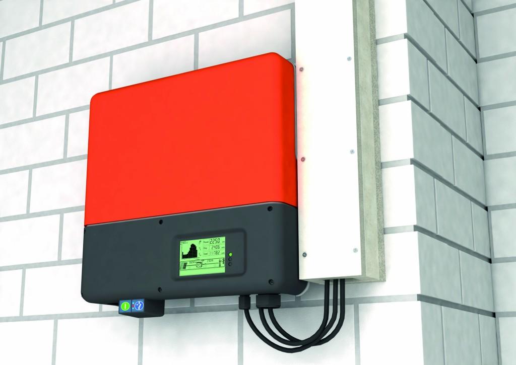 Bild 3 Leitungsführung der PV-DC-Kabel im Brandschutzkanal gemäß VDE AR 2100-712.