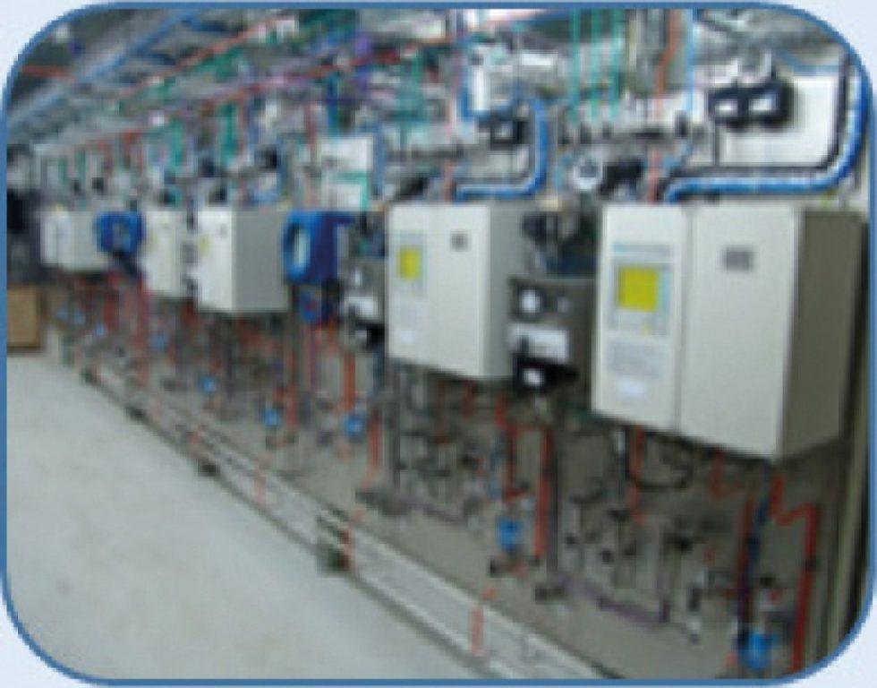 Systeme der Prozessanalysentechnik in einer PLT-Schutzeinrichtung.
