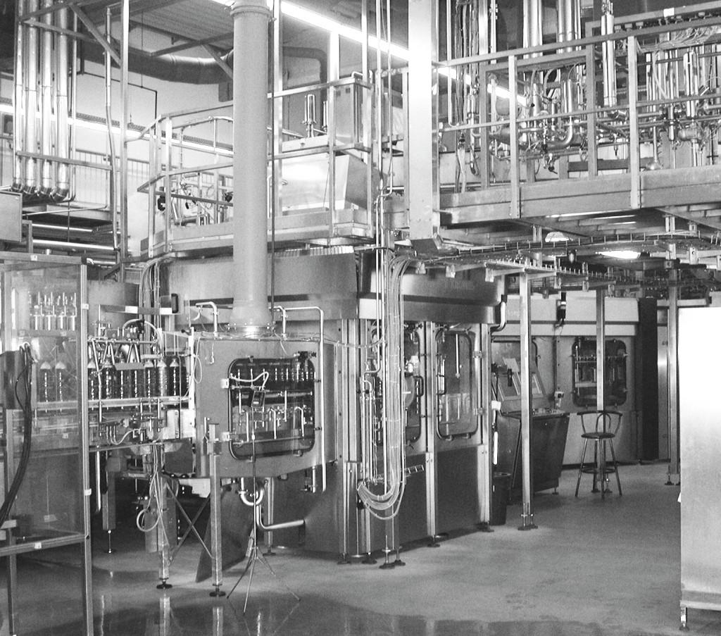 Bild 5. Kaltaseptische Getränkeabfüllanlage. Quelle: BGW/BGN