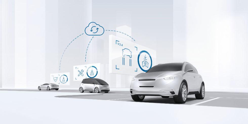 Die Vernetzung der Fahrzeuge mit einer Cloud ist ein gutes Anwendungsbeipiel für die Bosch IoT Suite. Foto: Robert Bosch GmbH