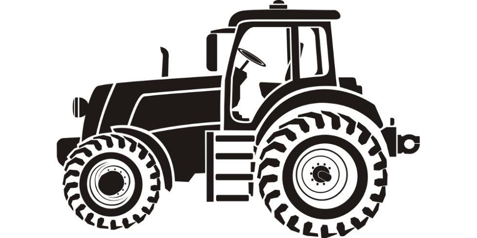 Illustration Traktor