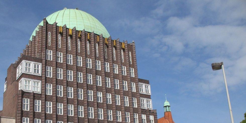 Grüne Kuppel Hochhaus