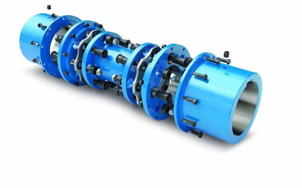 Die neue Ganzstahllammellenkupplung N-ARPEX von Flender ist die Universallösung für Konstrukteure für alle Anwendungen bis 2.000.000 Nm und Durchmessern bis 980mm. Foto: Flender