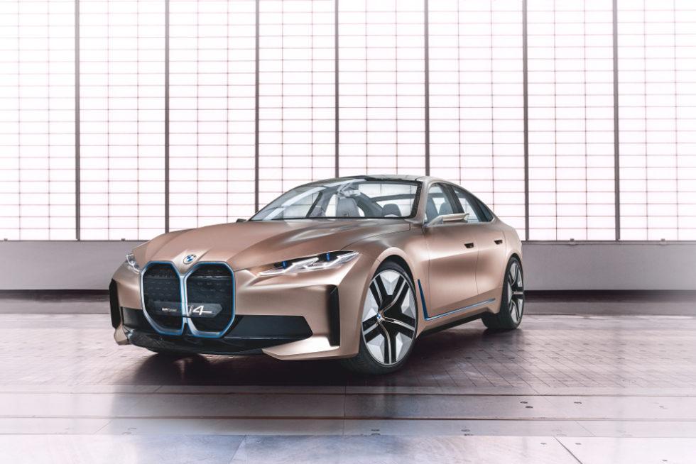 BMW stellt Konzeptstudie des i4 vor: Konkurrenz zum Tesla 3
