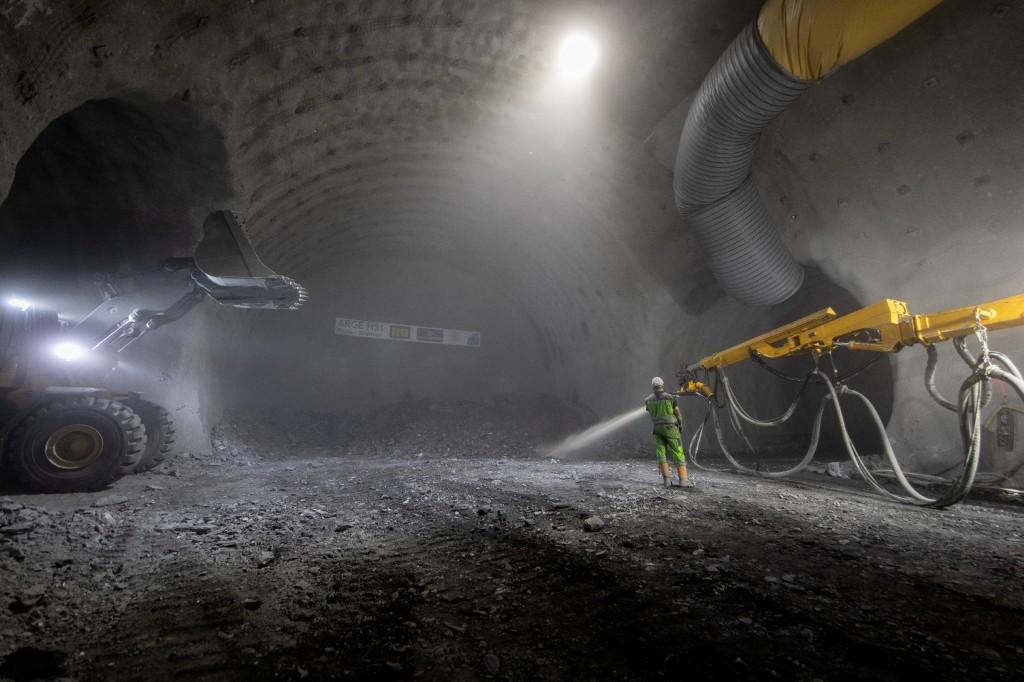 Der Knotenpunkt zu den Haupttunnel, die Querkaverne, ist circa 105 Meter lang. Foto: PORR