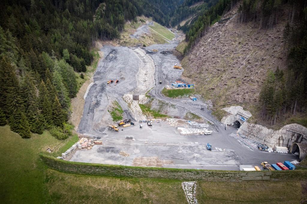 7,7 Millionen Kubikmeter Ausbruchmaterial können in der Deponie Padastertal eingebaut werden. Foto: PORR