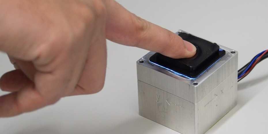 Die ETH Zürich hat einen neuen Tastsensor entwickelt.