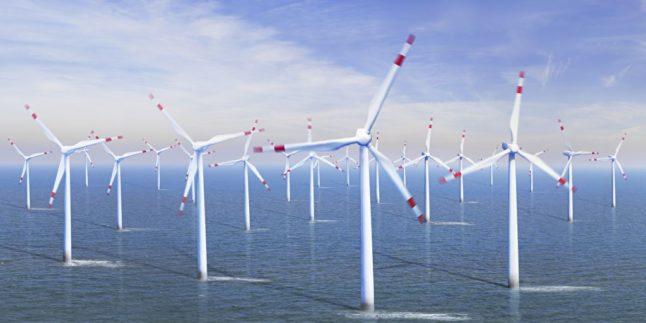 Offshore Park Windräder