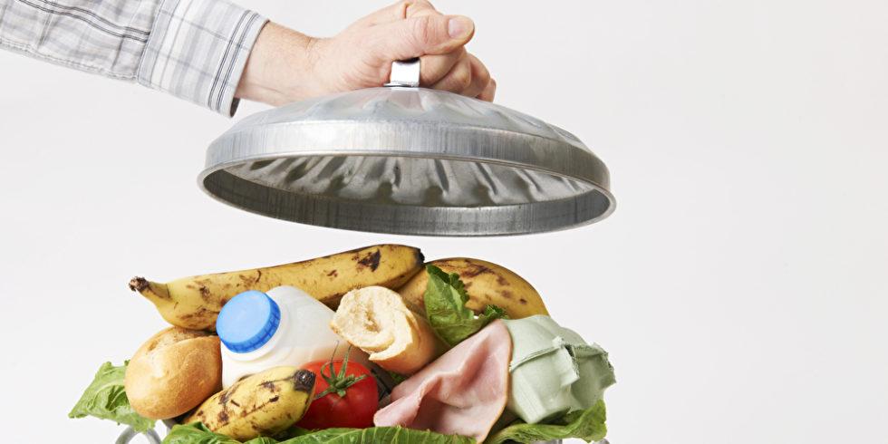 Lebensmittel-Müll