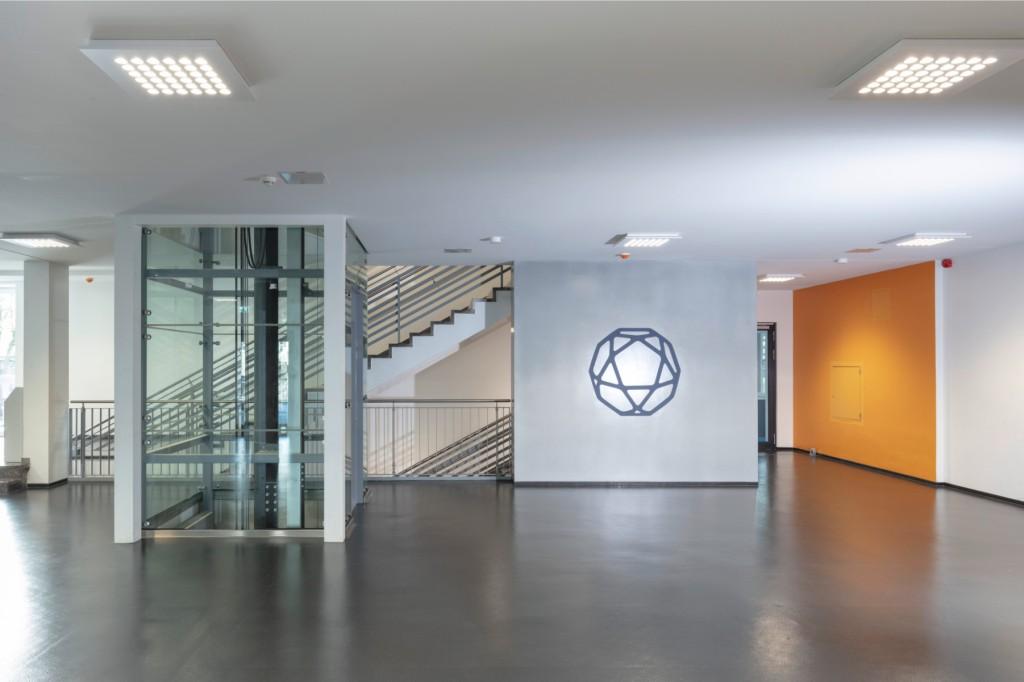 Ein neuer Aufzug gewährleistet die barrierefreie Erschließung. Foto: Axel Hartmann