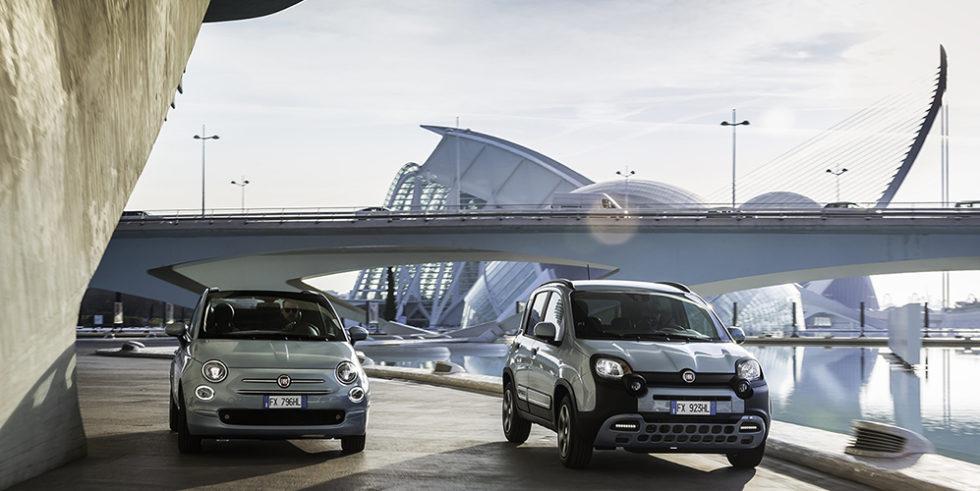 Fiat 500 und Panda als Hybrid