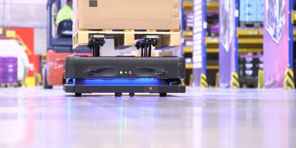 Autonomer Roboter DB Schenker