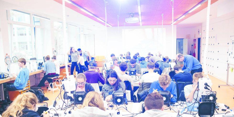 Maker Space Studierende