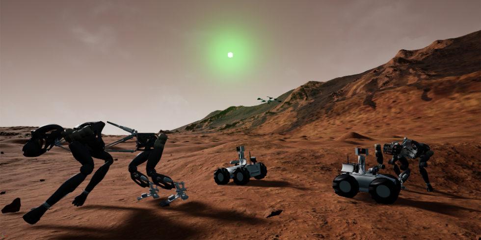 Simulation Mars-Mission