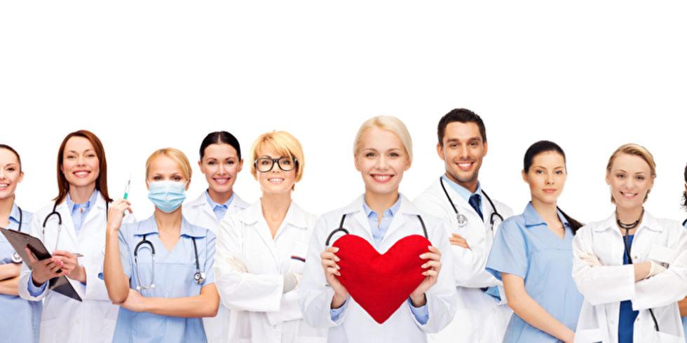 Ärzte und Pflegekräfte