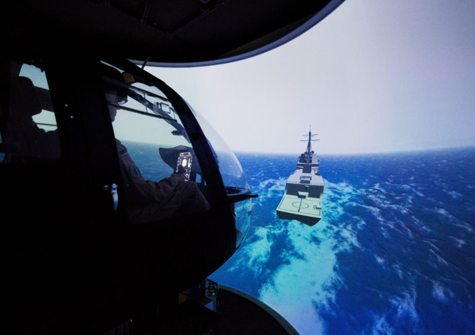 Virtuelle Realität soll Hubschrauber-Piloten unterstützen