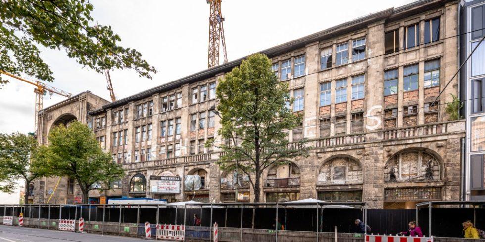 Rund um das Kunsthaus Tacheles entsteht in Berlin ein neues Stadtquartier. Foto: Björn-Arne Eisermann/HeidelbergCement AG