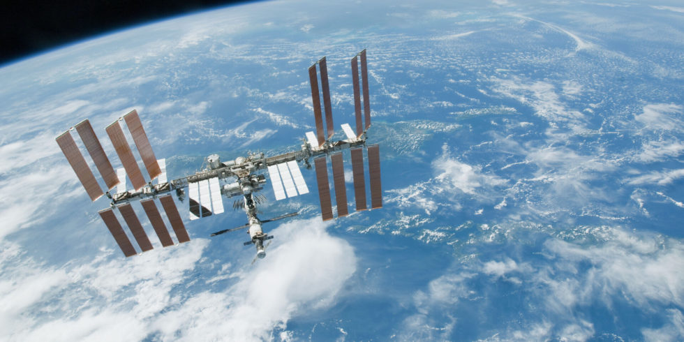 Die Internationale Raumstation ISS: In wenigen Tagen ist sie Teil eines historischen Ereignisses. Foto: Nasa