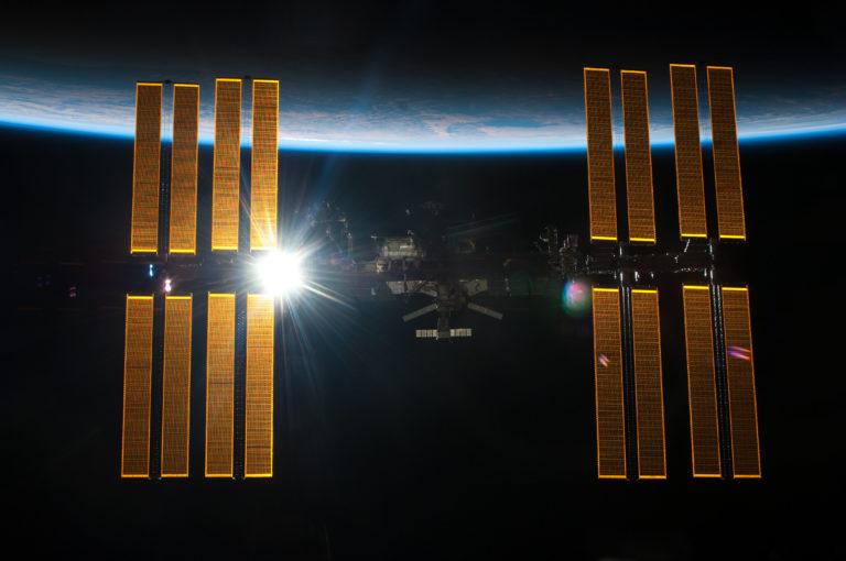 Die ISS ist das größte Bauwerk der Menschheit außerhalb der Erde. Foto: Nasa