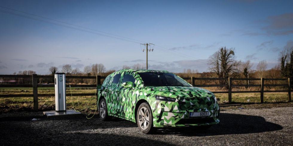 Der neue Elektro-SUV von Škoda