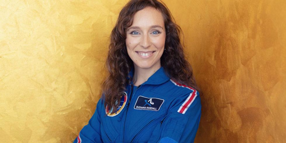 Suzanna Randall wird vielleicht die erste deutsche Astronautin. Foto: Marek Beier