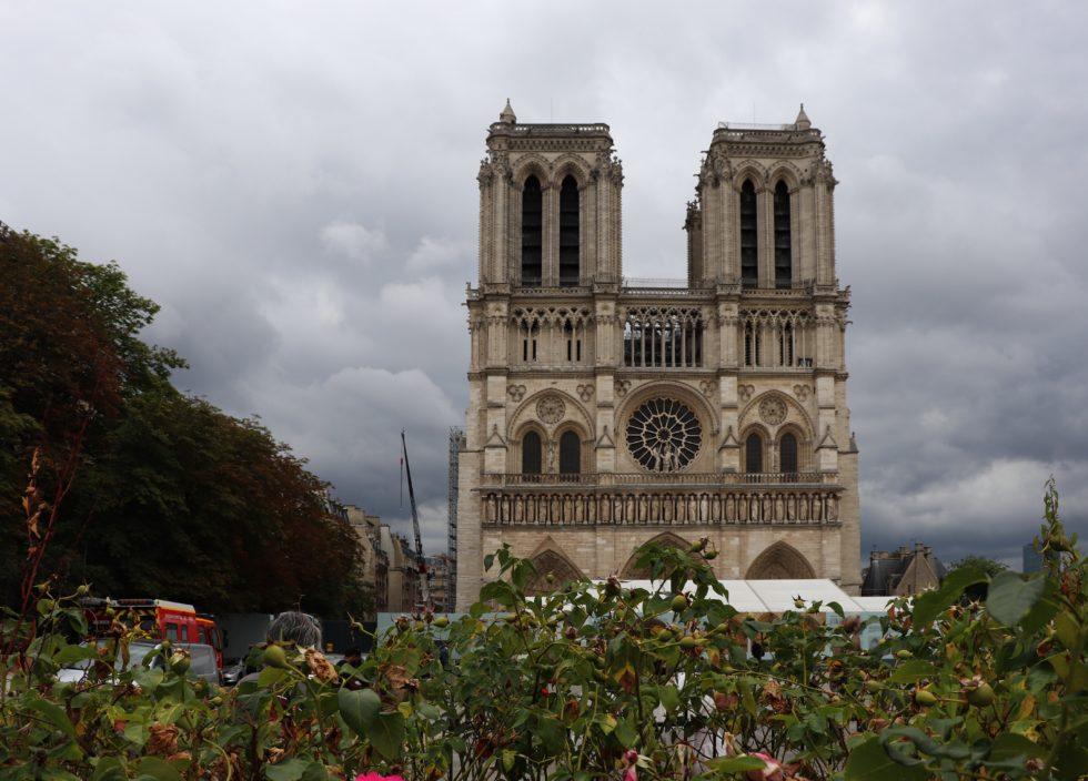 Notre Dame Vorderansicht