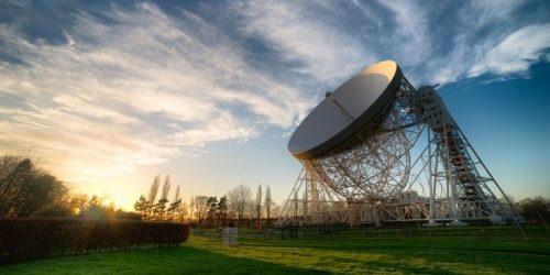 Das Lovell-Teleskop. Foto: University of Manchester