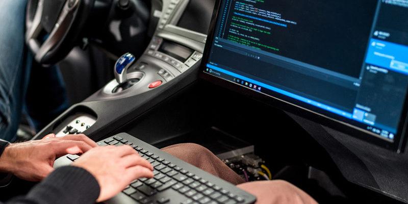 Im Auto programmieren