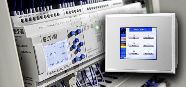 Kleinsteuerungen mit zahlreichen Optionen - auch modulare Programmierung. Foto: eaton