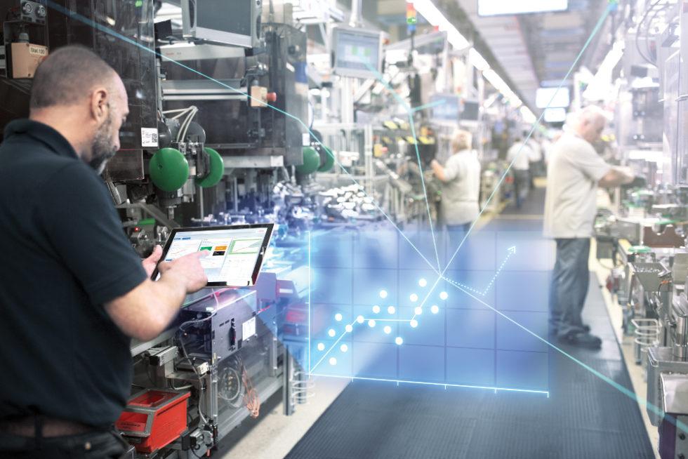 Bosch treibt die Industrie 4.0 kräftig voran