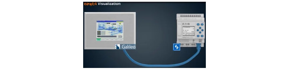 Komfortable Visualisierung für EasyE4. Lernen Sie die Vorteile von easyE4 Visualisierungskonzept kennen. Foto: eaton
