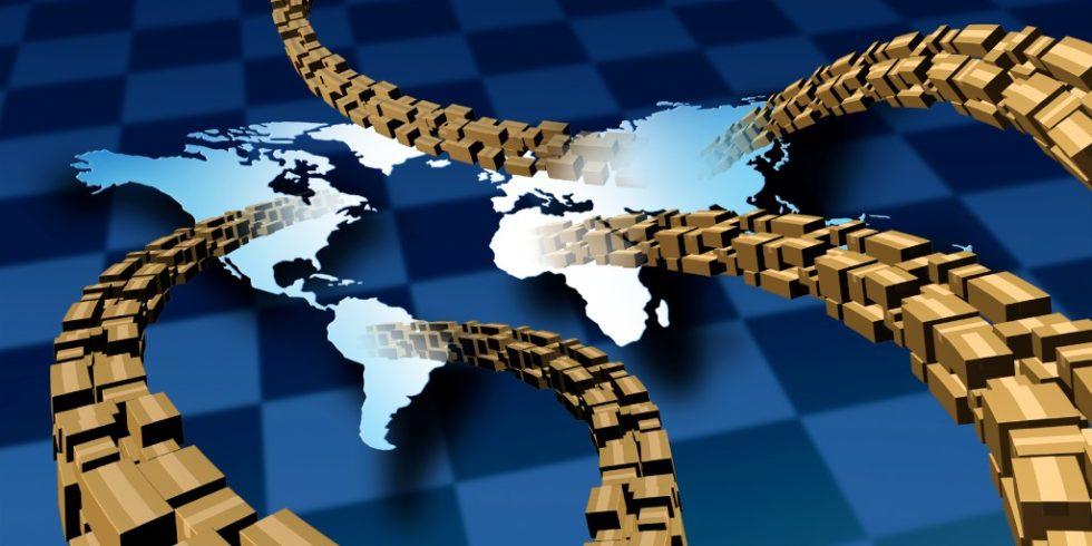 Lieferketten auf der Welt