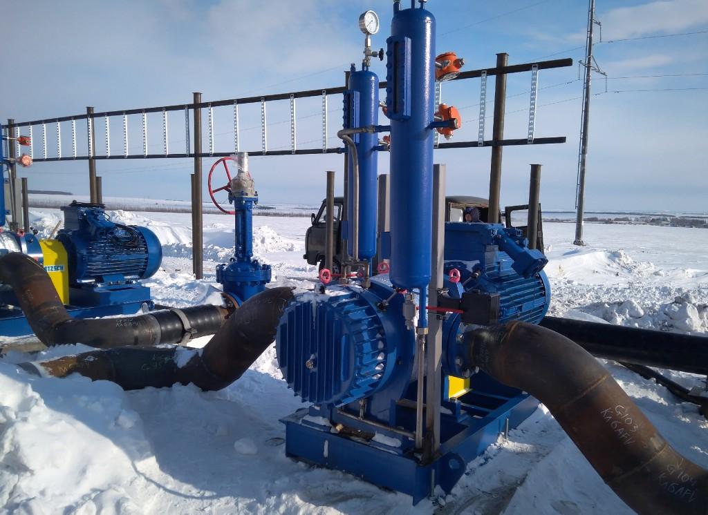 Die Pumpensysteme kommen weltweit zum Einsatz und trotzen auch harten klimatischen Bedingungen. Foto: Netzsch