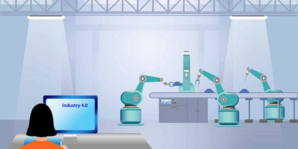 Illustration Industrie 4.0