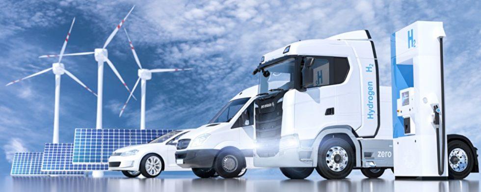 """Mit dem verstärkten Einsatz von Wasserstoff - auch im Waren- und Gütertransport - will die Bundesregierung ihre selbst formulierten Klimaziele erreichen. Vertreter führender Logistikverbände begrüßen die """"Nationale Wasserstoffstrategie"""". Bild: PantherMedia/aa-w"""