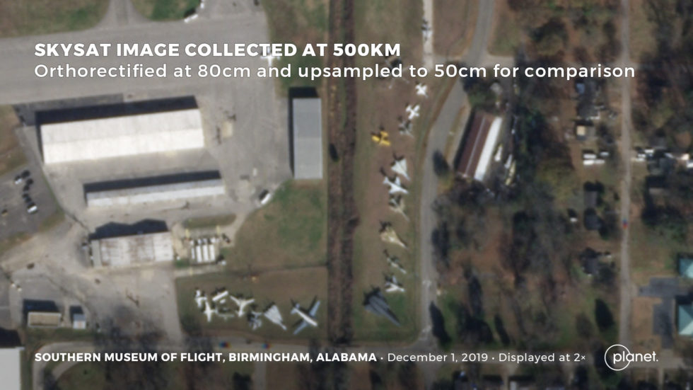 Das Southern Museum of Flight in Birmingham, Alabama, USA.
