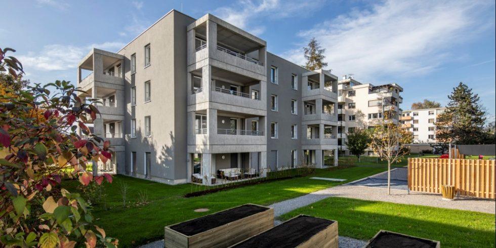 Das Projekt Lerchenstraße in Wolfurt Vergleicht den Holzbau mit dme Massivbau. Foto: Weissengruber