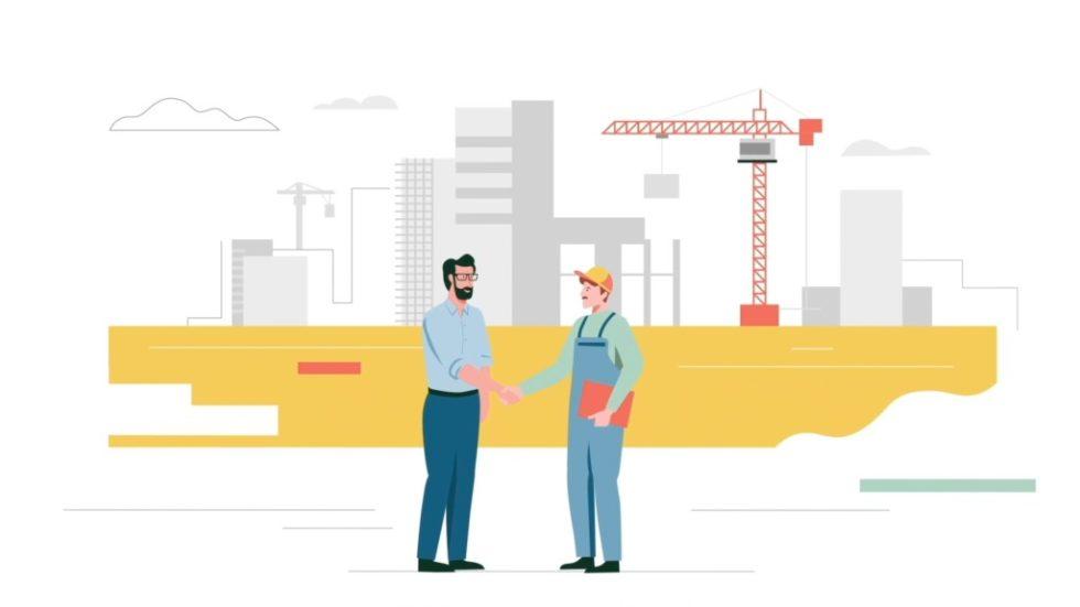 Das richtige Fachunternehmermanagement fördert den Bauprojektablauf. Foto: Tenera