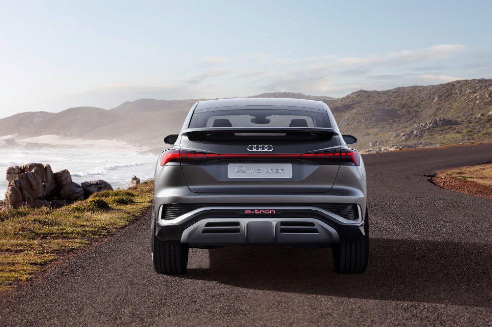 So wird der erste kompakte E-SUV-Coupé von Audi aussehen