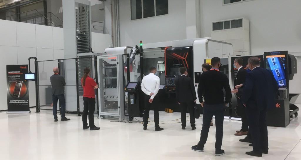 """Die Hausausstellung des japanischen Werkzeugmaschinenbauers in Düsseldorf wurde dieses Mal in Form von """"exklusiven Kundenterminen"""" abgehalten. Foto: Mazak"""