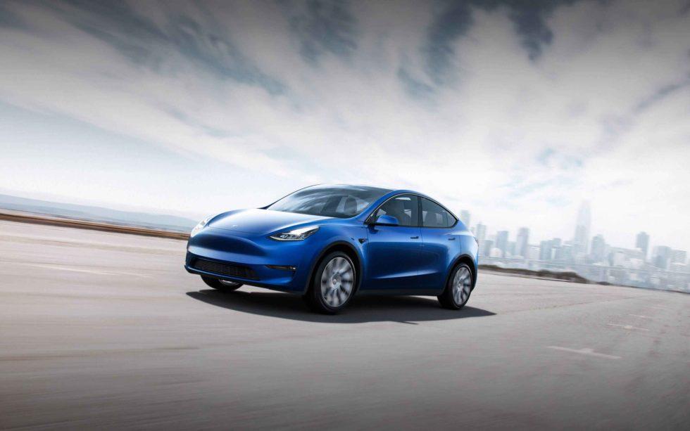 Das Modell Y von Tesla soll in Brandenburg gebaut werden. Foto: Tesla