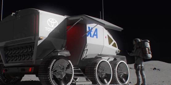 Toyota soll eine Art Wohnmobil für den Mond bauen. Foto: Toyota