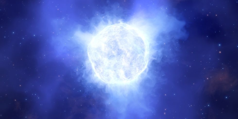 So könnte der Stern vor seinem plötzlichen Verschwinden ausgesehen haben. Foto: ESO/L. Calçada
