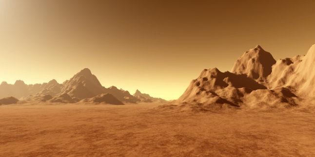 Mars Symbolbild