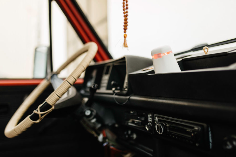 Spexor im Auto